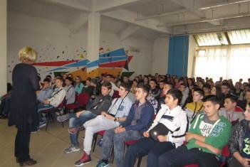 Гости побратимске школе из Врања