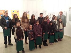 Likovna izložba učeničkih radova