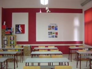Prolećno spremanje učionice