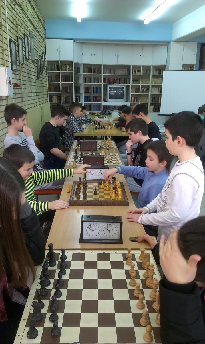 Школско такмичење у шаху