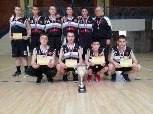 Успех наших кошаркаша II место на Републичком