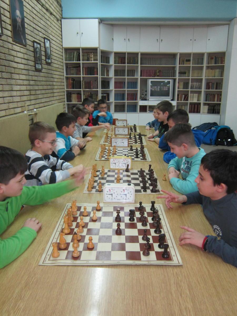 Општинско такмичење из шаха