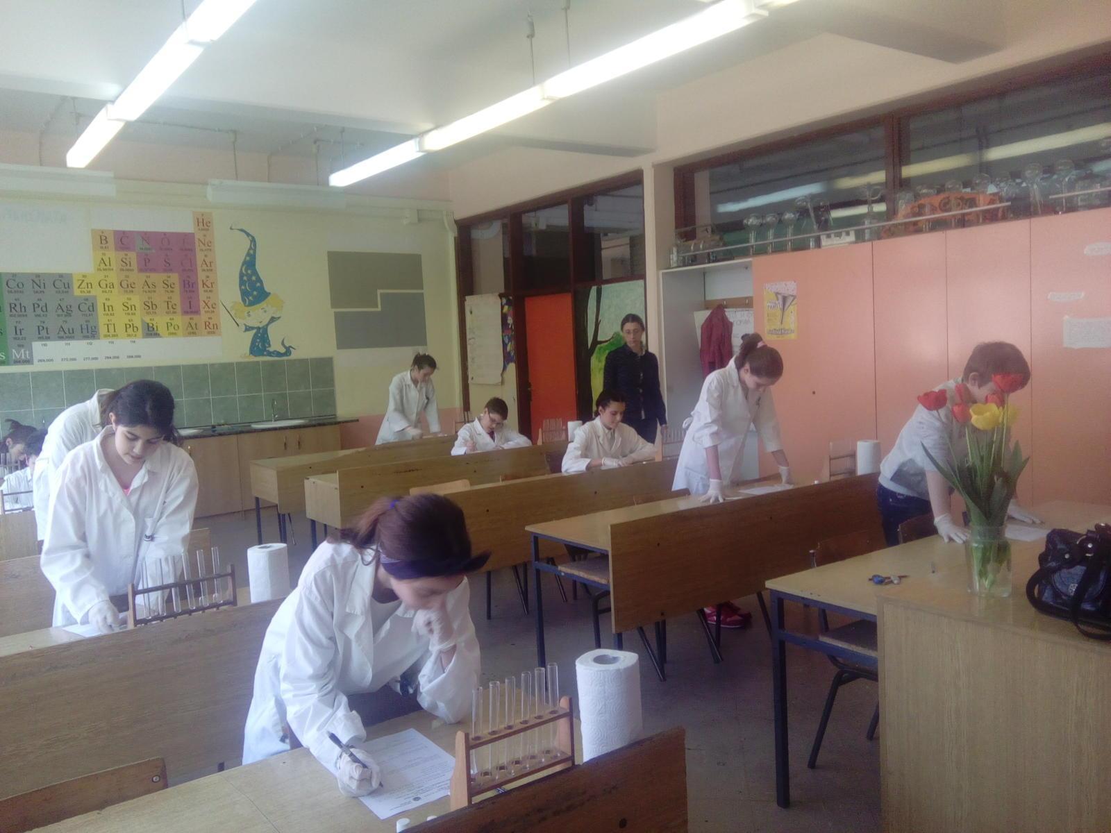 Окружно такмичење из хемије