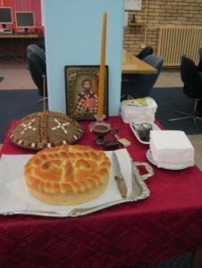 Rezanje slavskog kolača