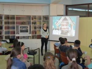 Предавање у библиотеци