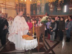Обележавање дана Светог Саве у храму Светих Апостола