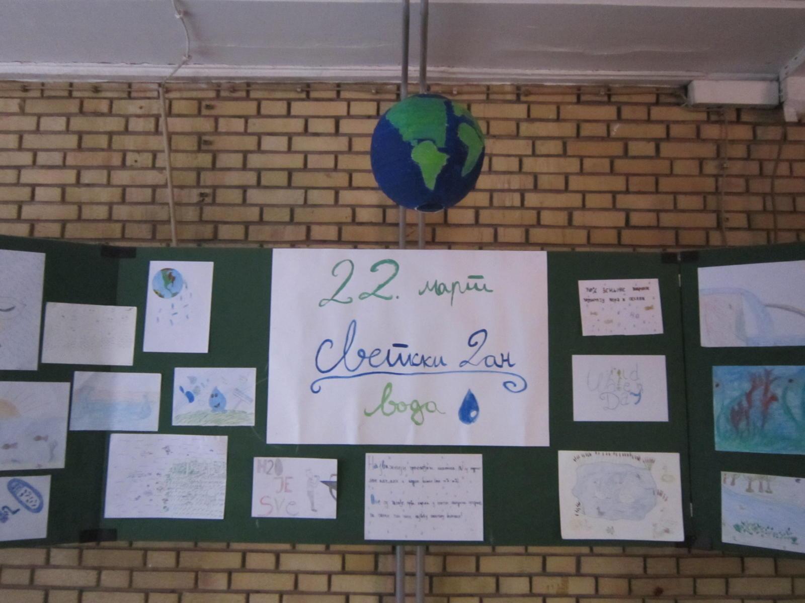 22. март Светски дан воде