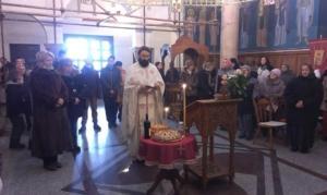 Литургија у Храму Светих апостола
