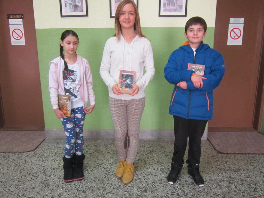 Награђени ученици за литерарни конкурс