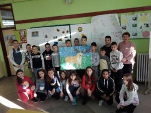 IV-4 са учитељицом Анком Миланко и директорицом Сањом Шијан